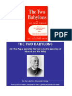 The Two BABYLONS_Alexander Hislop