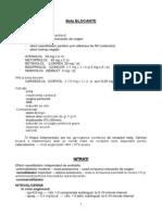 Aparat Cardio-Vascular - Medicatie