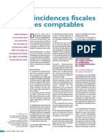 Actif Incidence Fiscale