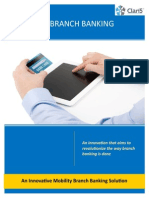 Paperless Branch Banking Brochure