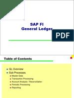 SAP FI General Ledger