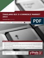 Thailand B2C E-Commerce Report 2014