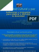 Diversidad Cultural y Paz