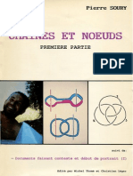 Soury - Chaines Et Noeuds 1