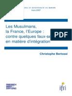 Les Musulmans, la France, l'Europe