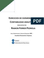 Ejercicios Examenes Contabilidad Analítica