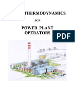 Thermodynamic for Power Plant Operation