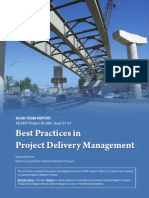 Best Practice in Project Delivery Management