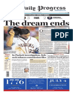 The Daily Progress' front page