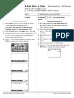 FX 9750 vs TI 83 NumericalIntegration&AreaUnderaCurve