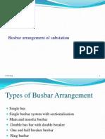Bus Bar Arrangement of Substation