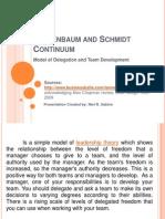 Tannenbaum and Schmidt Continuum