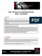 Fact Sheet - ROCKY - Das Musical - Hamburg