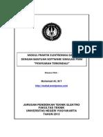 Modul 2 Praktik ELekktronika Daya Dg PSIM