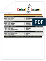 First Round League Fixtures for Wednesday 12 to Thursday 20 March 2014_2