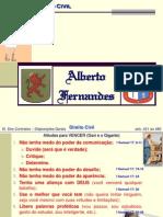 08Civil - Dos Contratos Disposições Gerais - ALBERTO Fernandes