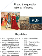 Henry VIII and the Quest for International Influence