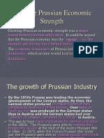 Growing Prussian Economic Strength