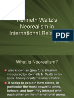 Neorealism in International Relations – Kenneth Waltz