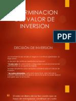 Metodos Para Evaluar Proyectos de Inversion