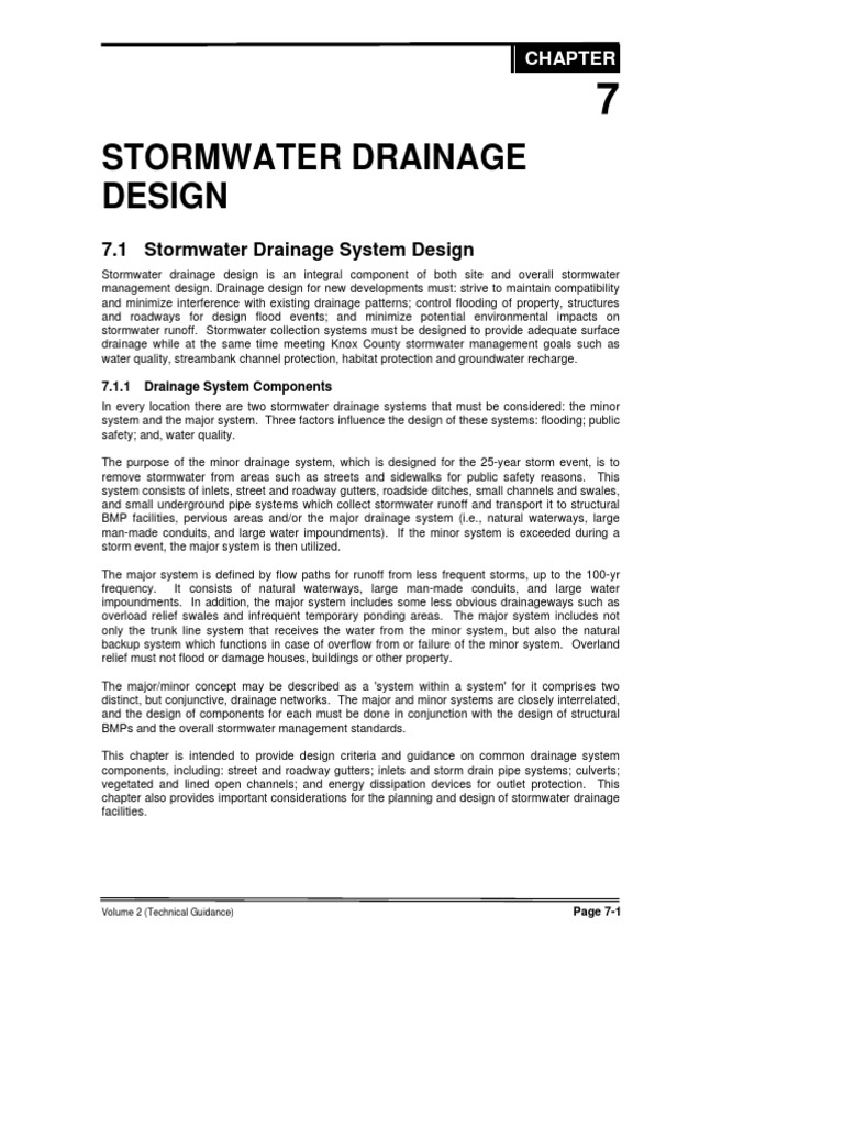 stormwater design | Storm Drain | Stormwater