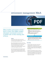 Investment Management M&A