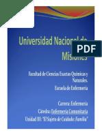 Unidad III -Enfermeria Comunitaria - 2014