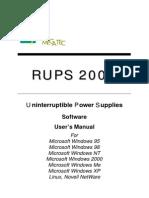 Manual Ups 1000va