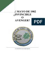 30 de mayo de 1982 ¿INVINCIBLE o AVENGER?