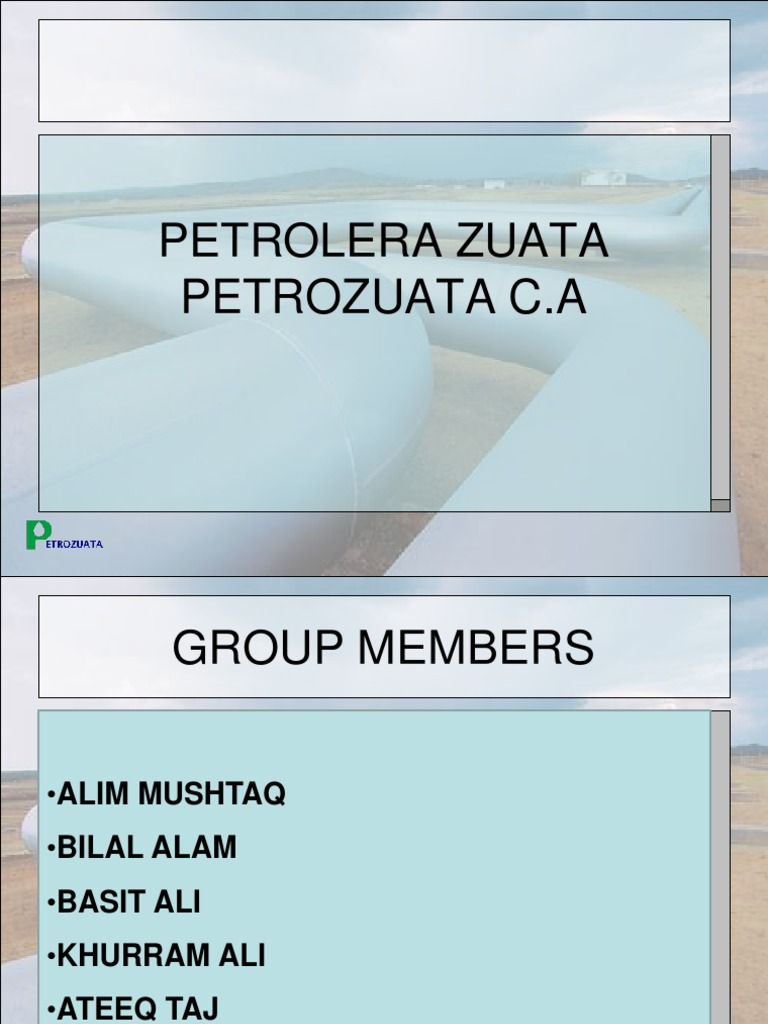 petrozuata case study project finance