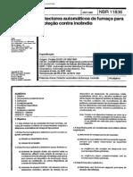 Nbr 11836-Detectores Automáticos de Fumaça Para Proteção Contra Incêndio