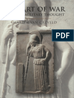 Creveld the Art of War War and Military Thought