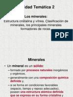 UNIDAD 2 Minerales