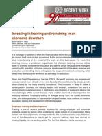 Training Retraining