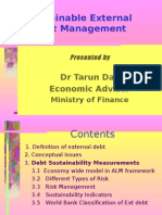 Sustainability of External Debt- Conceptual Issues and Measures by Tarun Das