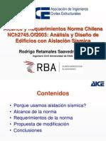 Presentacion NCh2745 2013-03-26 Rodrigo Retamales