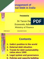 Public Debt Lecture-3 by Tarun Das