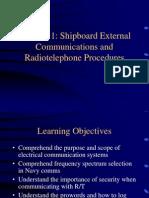 8-Shipboard External Communications