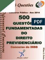 1729_direito Previdenciário-concurso Inss - Apostila Amostra
