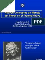 Manejo Del Shock en El Trauma Grave