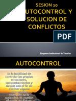 Autocontrol y Solucion de Conflictos