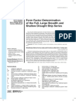 Form Factor Determination  of the Full, Large Breadth and  Shallow Draught Ship Series