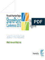 Russ Houberg - SharePoint 2013 - Search Architecture