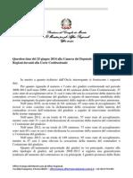 Contenzioso Stato Regioni Davanti Alla Corte Costituzionale