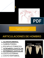 Hombro Terapia manual