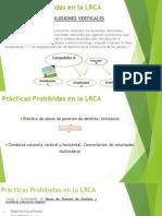Prácticas Prohibidas en La LRCA