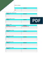 Lista de Peças Para Reposição Em Estoque