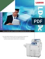 Fotocopiadora Lanier LD 420c en Esp(2)