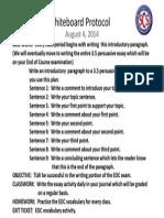 whiteboard protocol