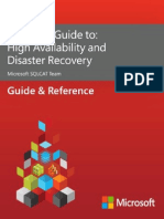 SQLCAT's Guide to High Availability Disaster Recovery